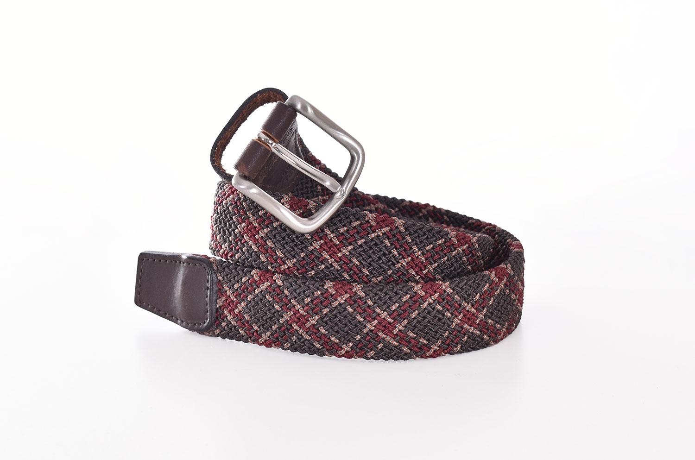 D'amico brown braid belt ANDREA D'AMICO   ACU2614497