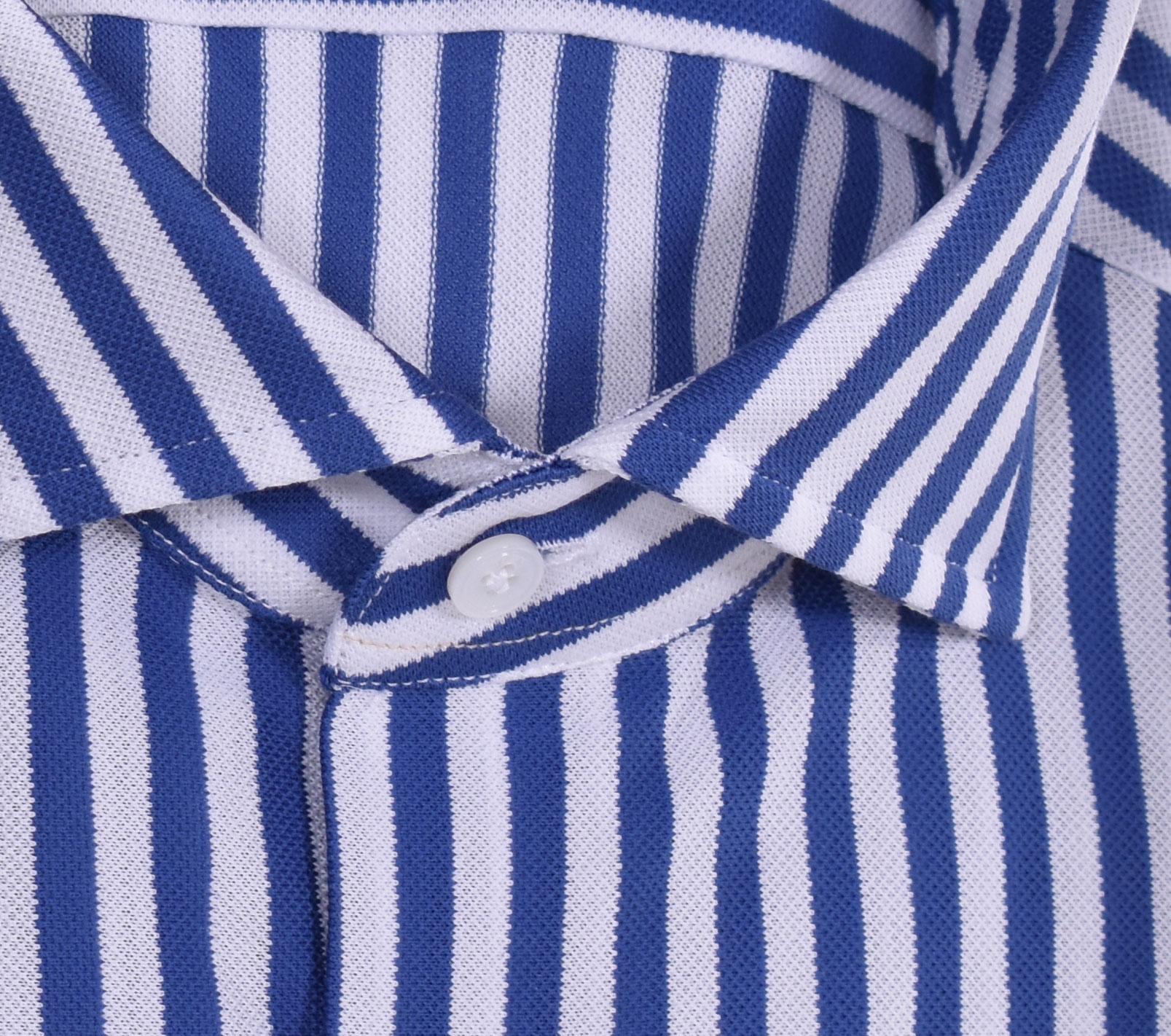 Camicia Bagutta walter bianco blu BAGUTTA   11265250