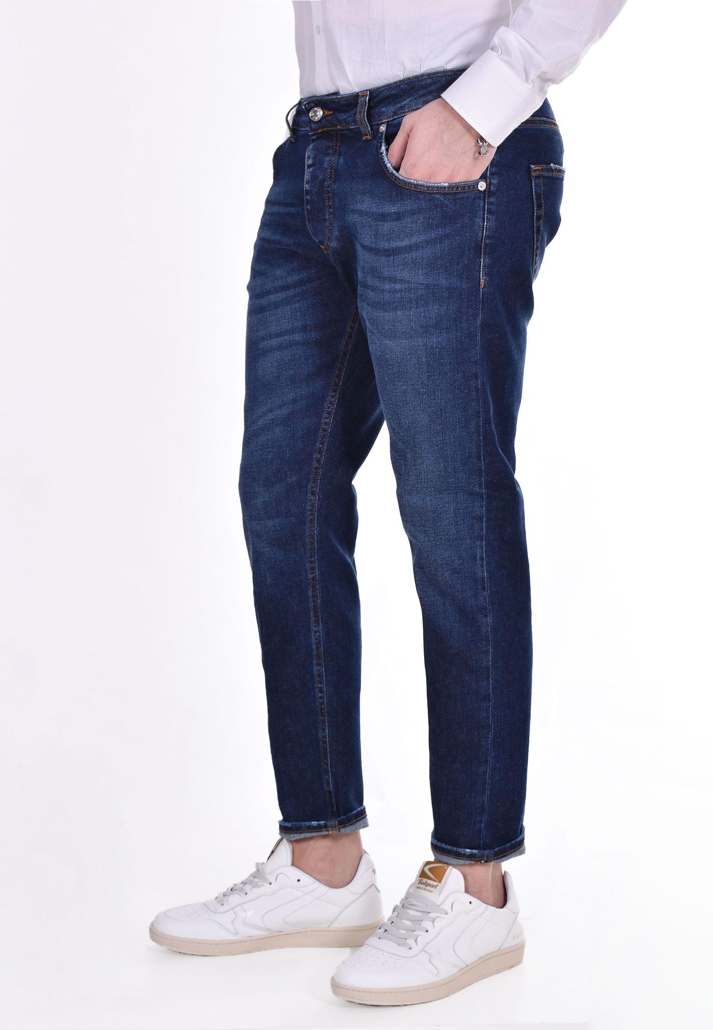 Jeans davis shorter blu scuro BE ABLE   GKC1506