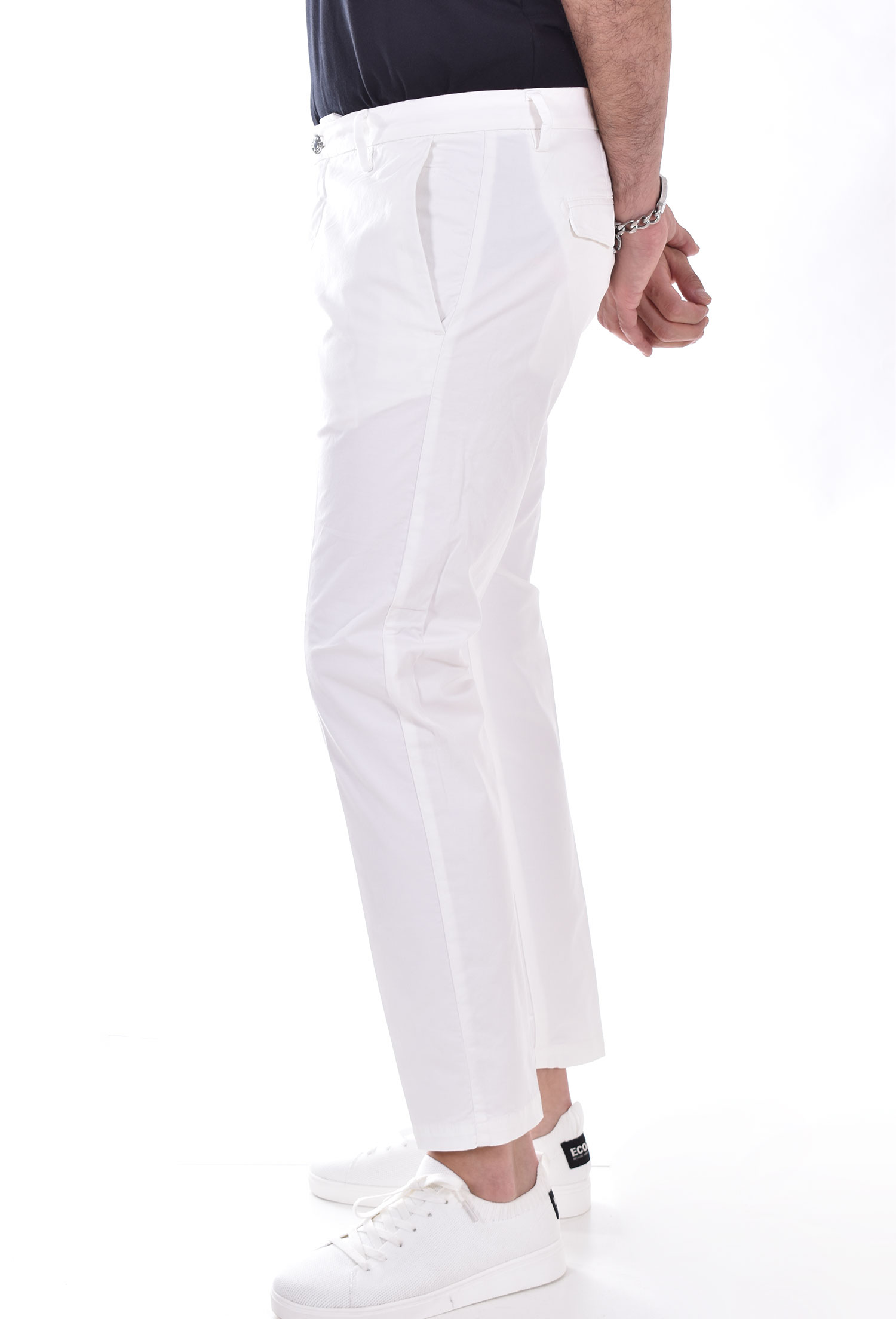 Be Able mike shorter white trousers BE ABLE | MIKE01