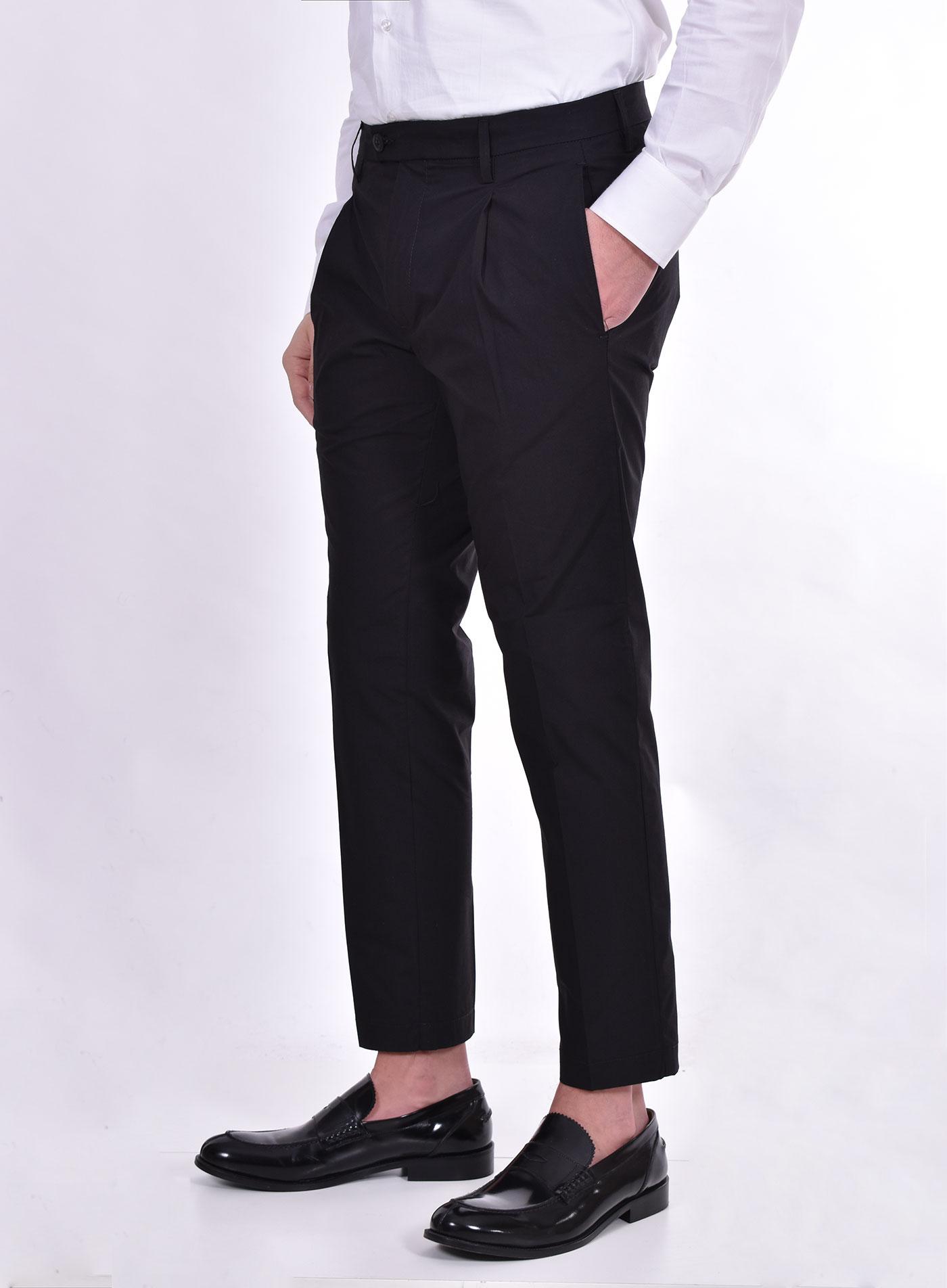 Bro Ship chicago black trousers BRO SHIP | BSCHI7025019
