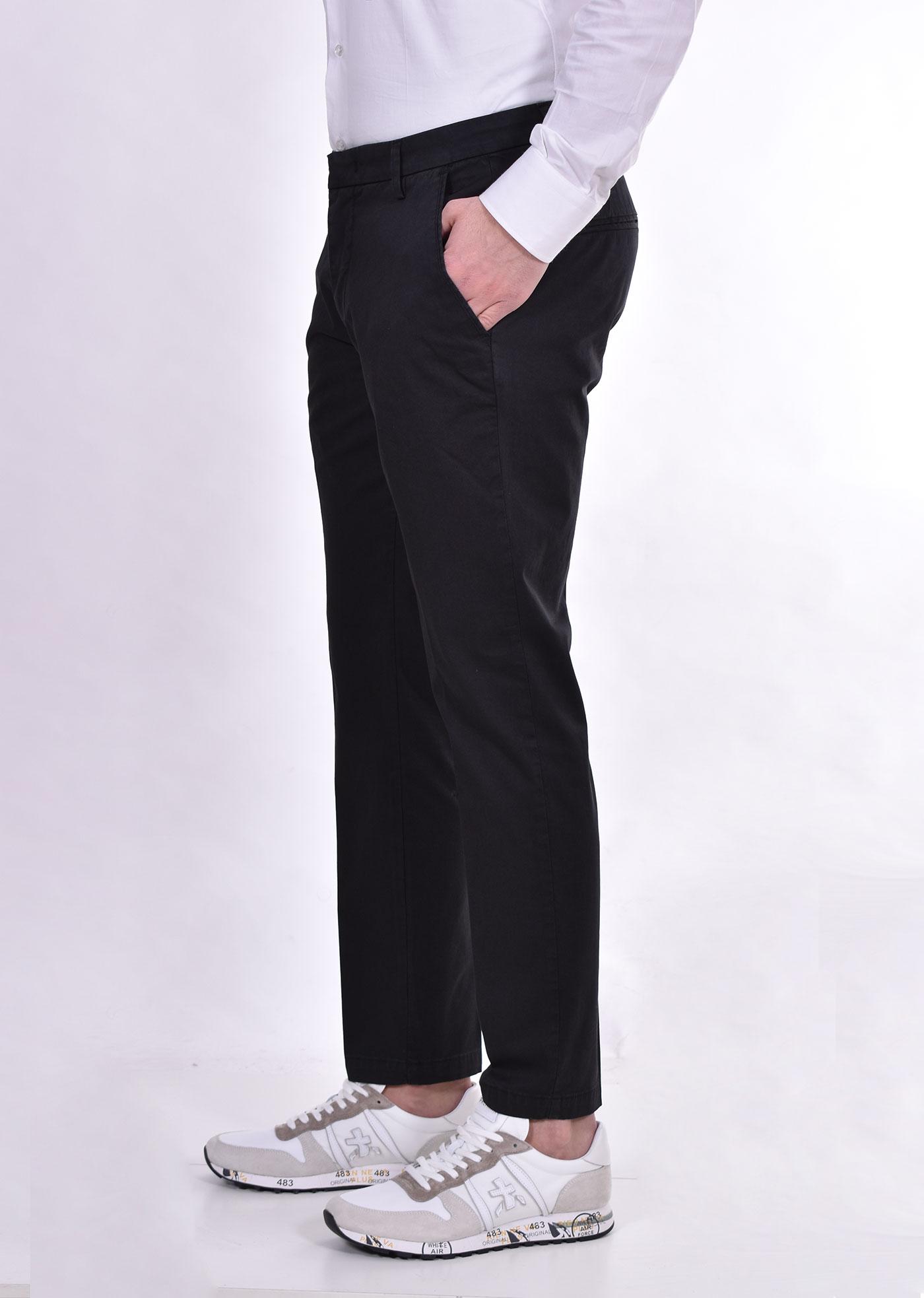 Bro Ship campri miami black trousers BRO SHIP   BSMIA8221019