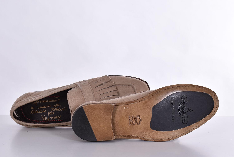 Claudio Marini beige suede loafers CLAUDIO MARINI | 82371