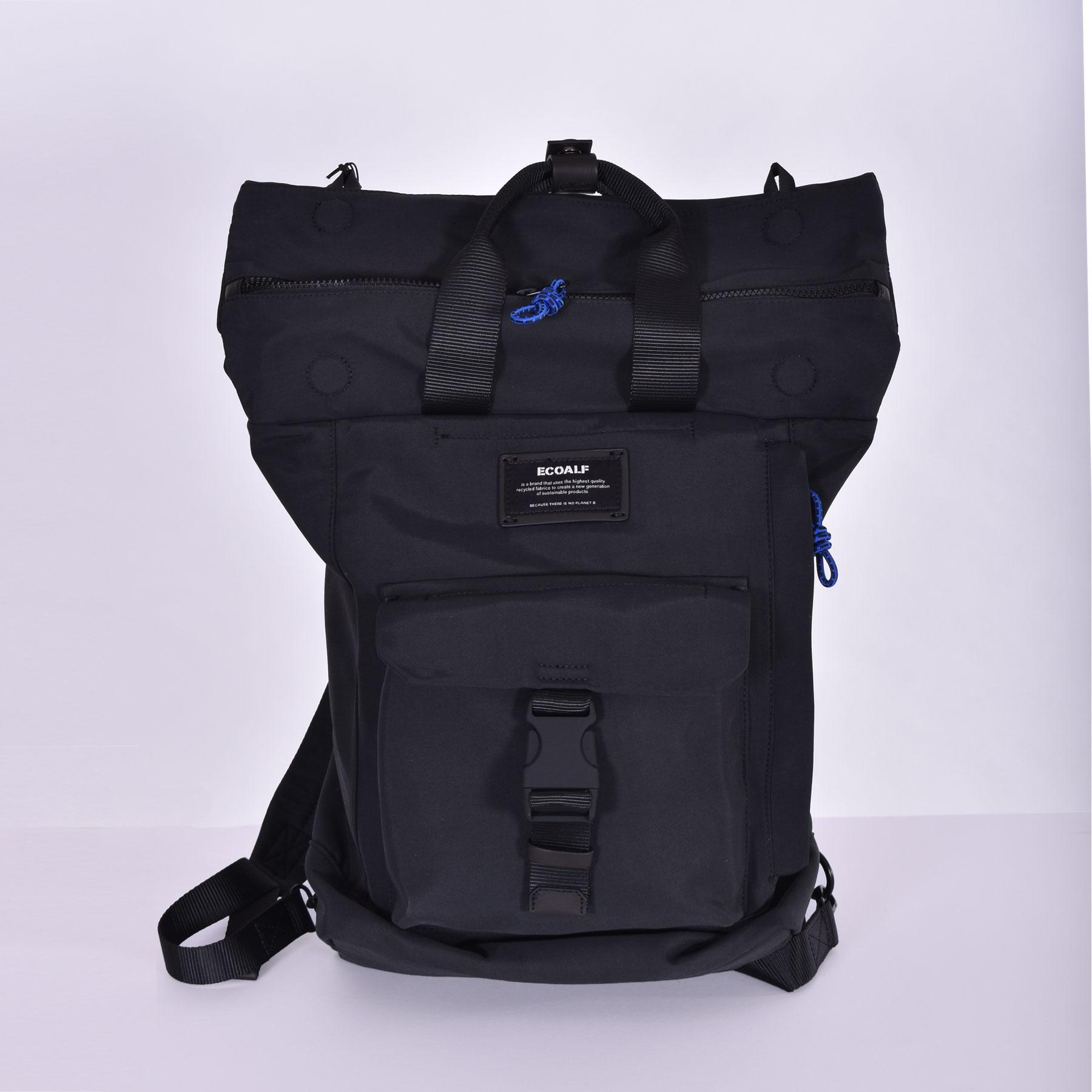 Ecoalf black backpack ECOALF   2710319