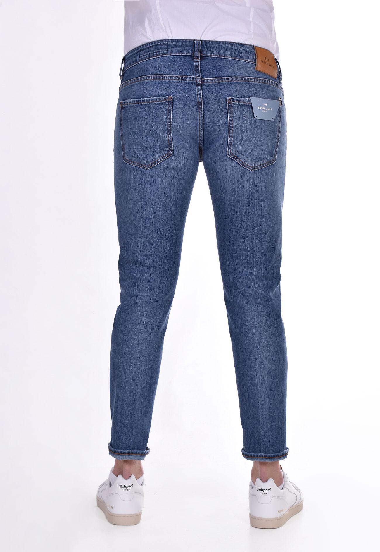 Entre Amis denim jeans tears ENTRE AMIS   8177206L8341