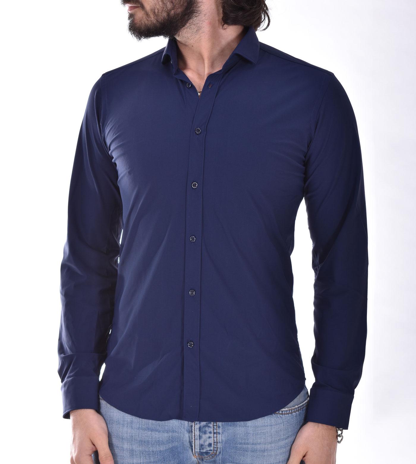 GMF 965 superslim blue shirt GMF 965 | 11002