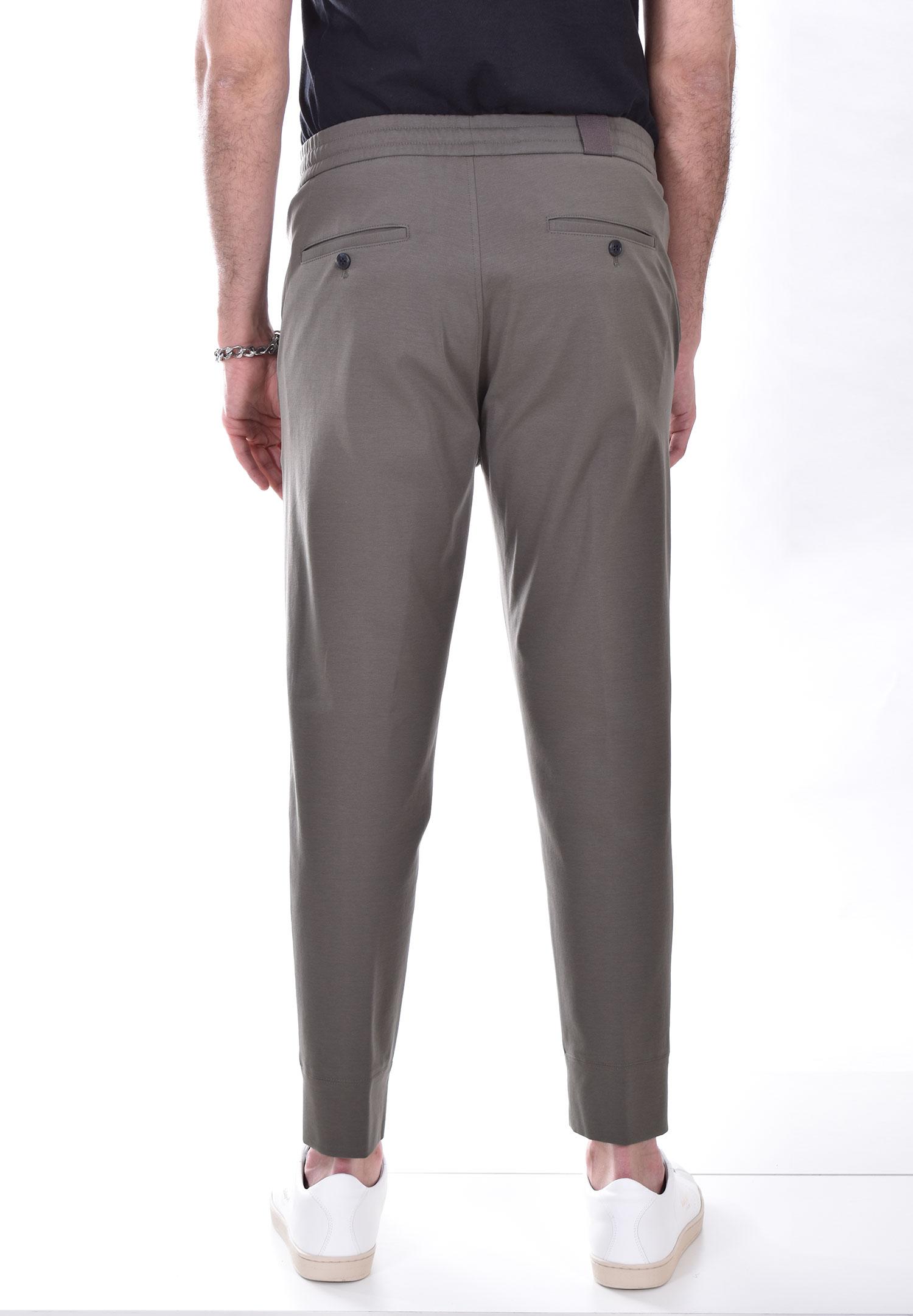 Pantalone Hosio jogging coulisse verde HOSIO | 21409P10346