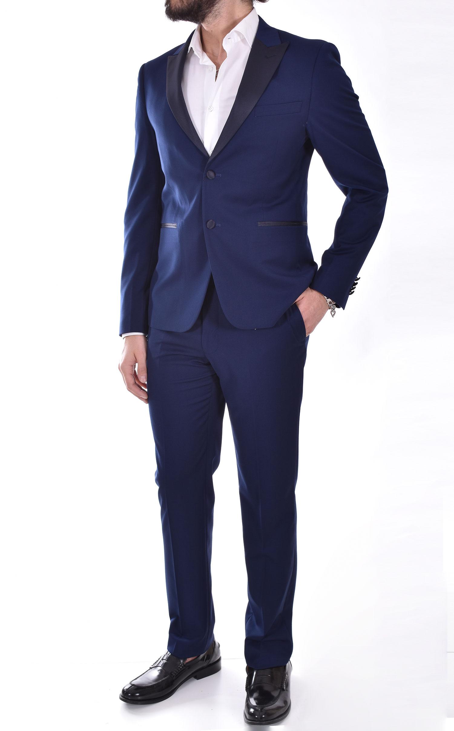 Marcel Morel blue spear chest dress Marcel Morel | AB011001