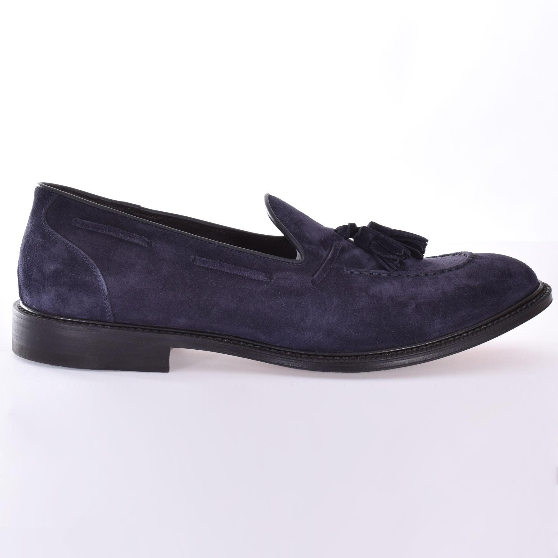 Migliore blue jerry tassel loafers MIGLIORE | 810101