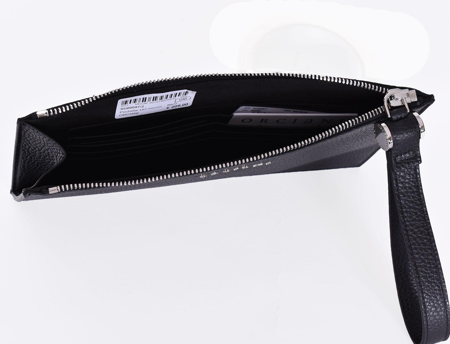 Pochette Orciani micron nero ORCIANI | SU000972