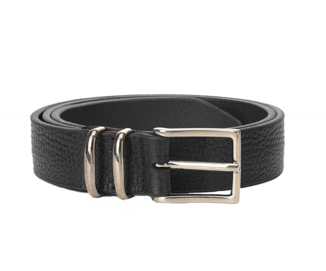 Orciani man belt grit black ORCIANI | U078911