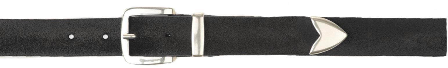 Orciani men's hunting belt black ORCIANI | U079501