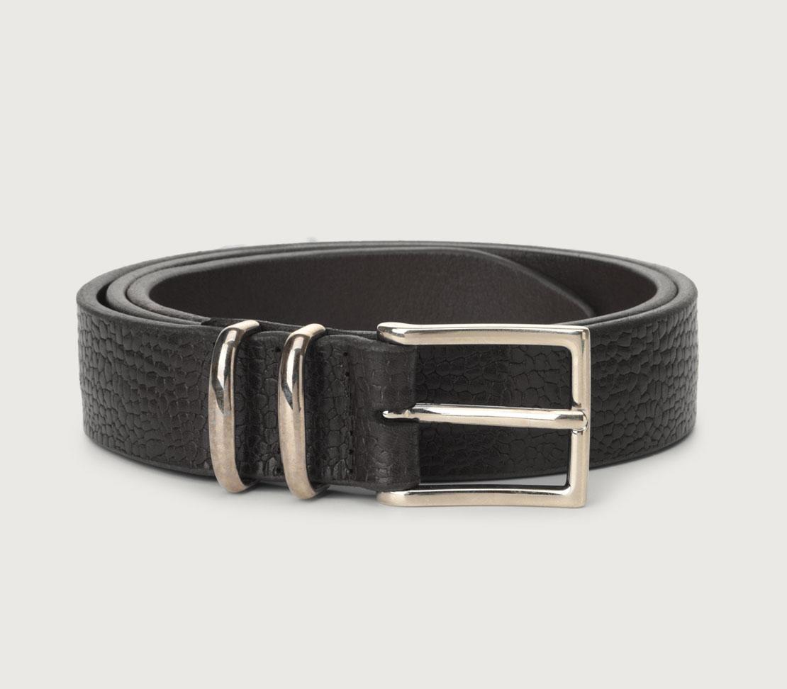 Orciani man grit black belt ORCIANI | U079851