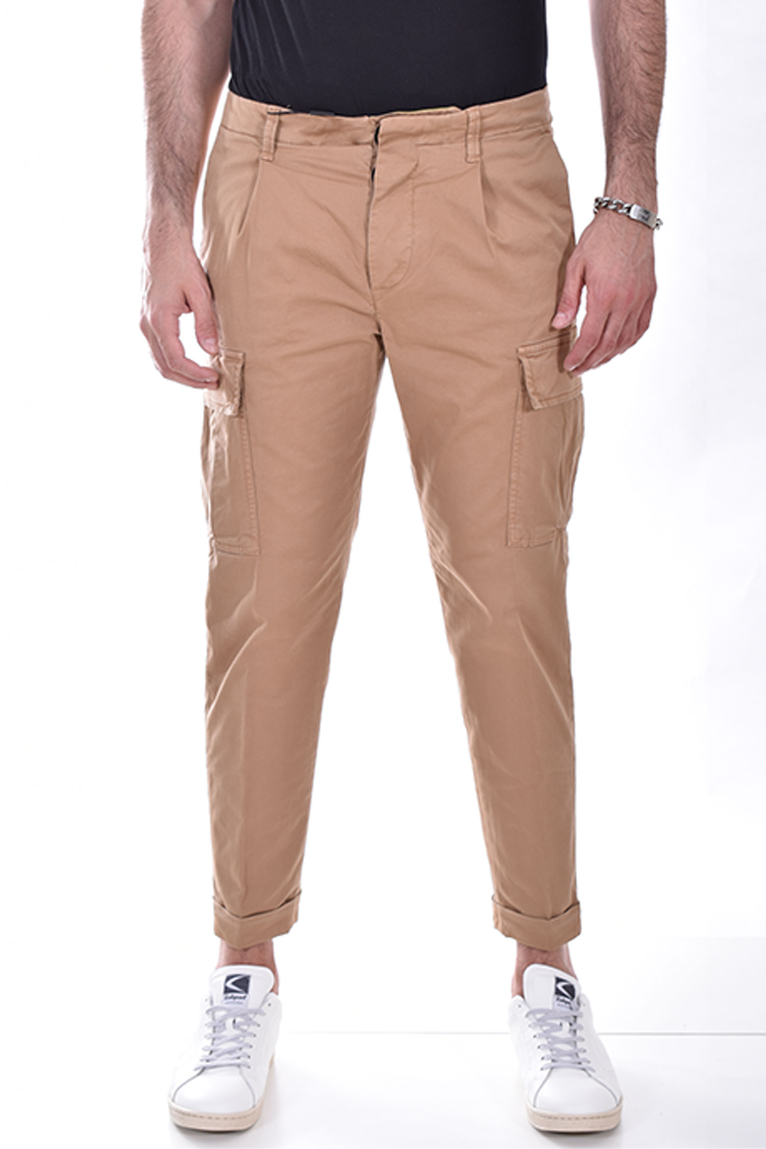 Pantalone Outfit Italy cargo beige OUTFIT ITALY   P021470