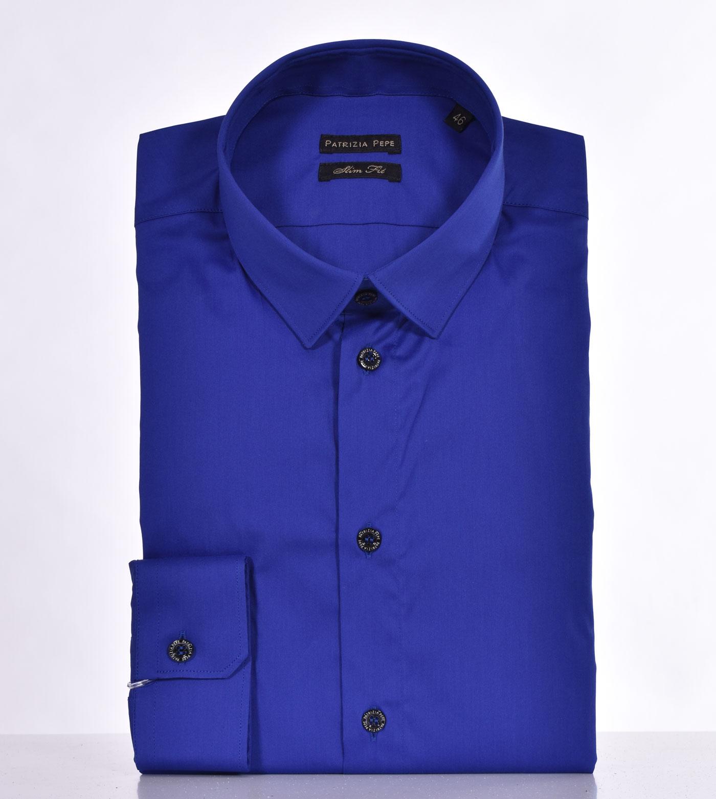 Patrizia Pepe royal blue shirt PATRIZIA PEPE | 5C0055C882