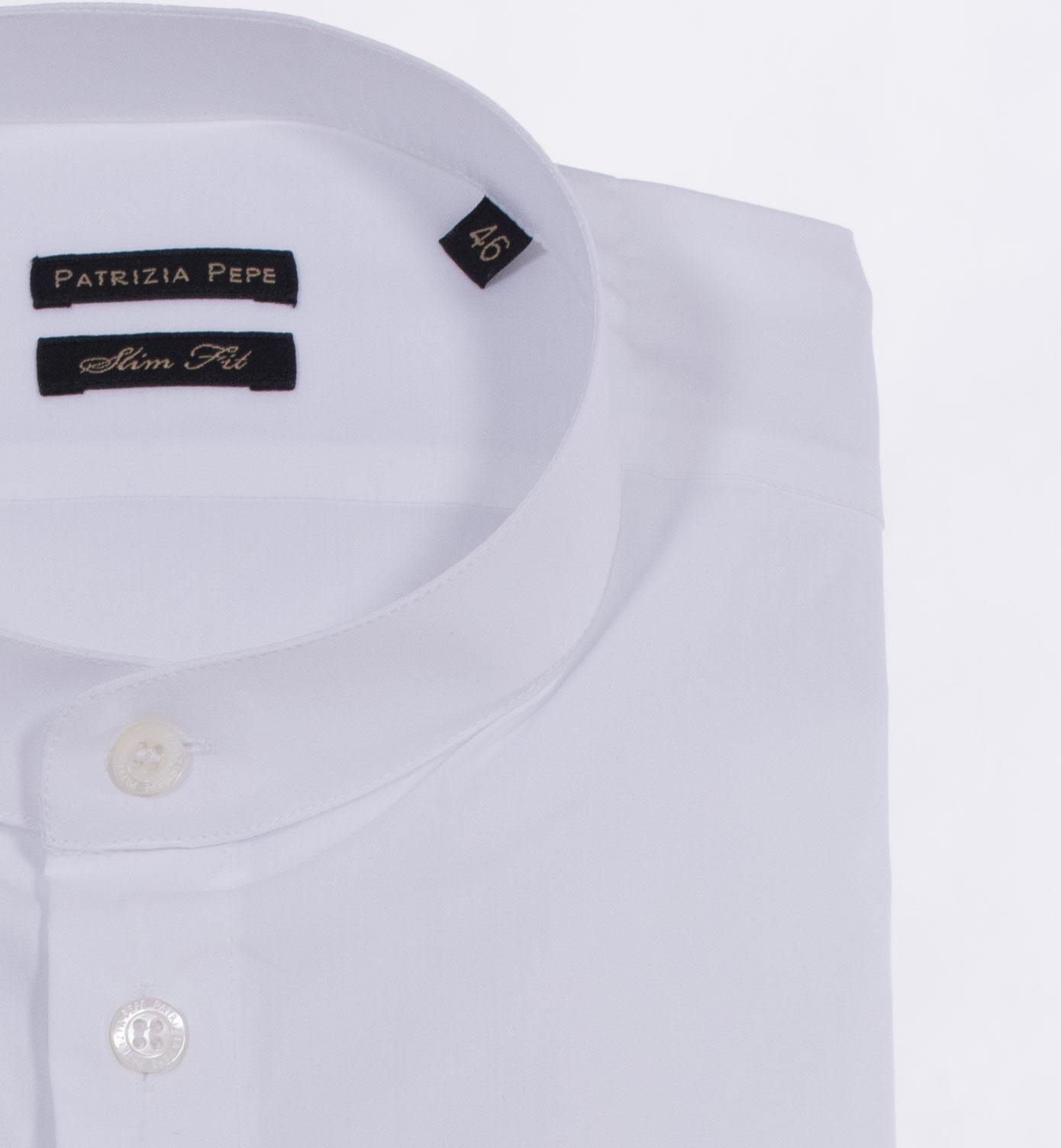 Camicia Patrizia Pepe uomo coreana bianca PATRIZIA PEPE | 5C0257W103