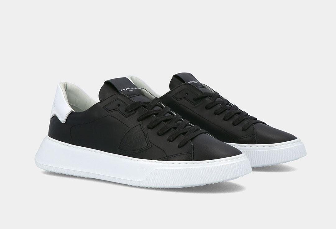 Sneakers Philippe Model Temple nero PHILIPPE MODEL   BTLUV002