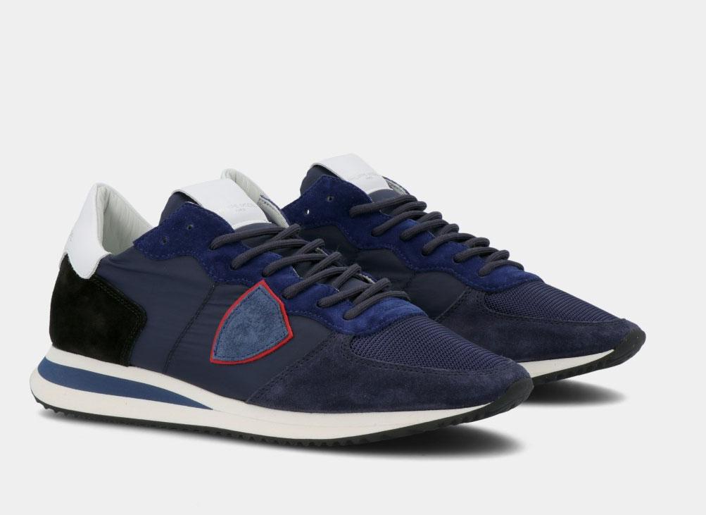 Sneakers Philippe Model tropez blu PHILIPPE MODEL | TZLUW057