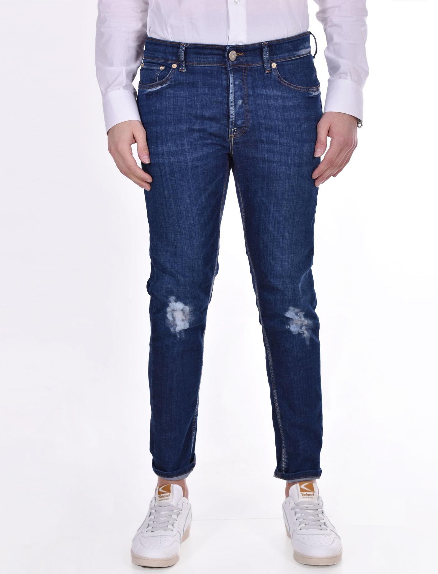 PMDS Gerard slim jeans blue Premium Mood Denim Superior   041791