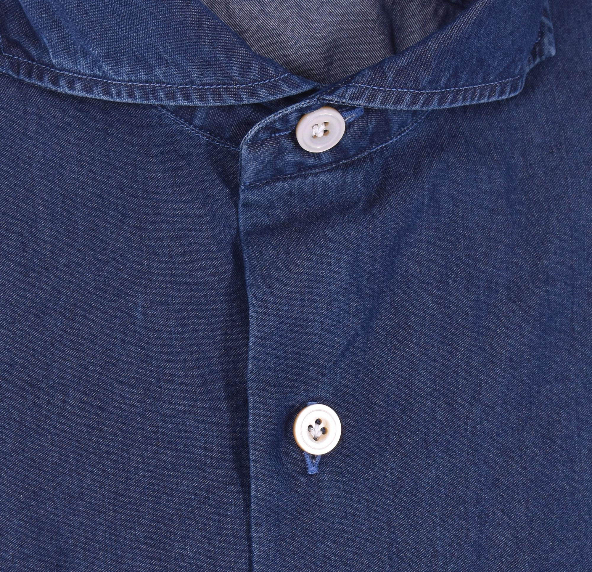 Camicia Sannino jeans blu scuro SANNINO | A50501
