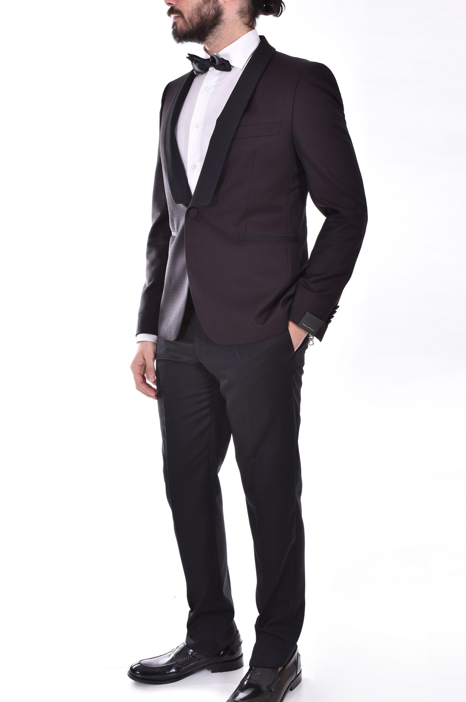Tagliatore burgundy tuxedo suit TAGLIATORE   06UEZ297/KFSPC1165