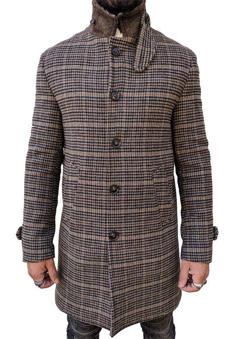 Barbati men brayan beige squared coat BARBATI | Coats | 21953273