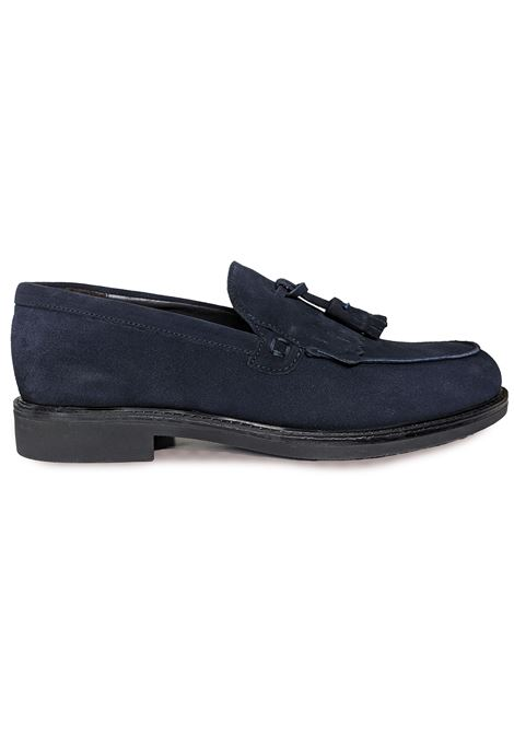 Blue fringed Barbati men moccasins BARBATI | Shoes | B0512