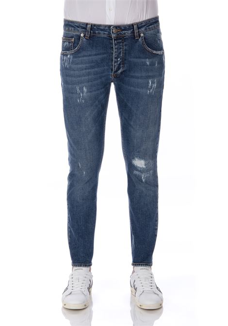 Be Able Davis jeans Shorter ripped man BE ABLE | Jeans | 24641324