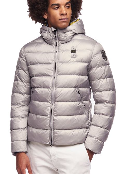 Jacket Blauer Classic men light grey BLAUER   Jackets   19WBLUC02058922