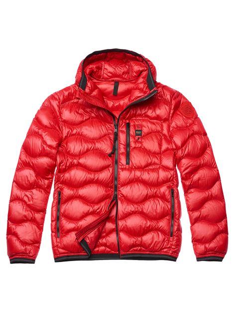 Red Blauer jacket waves men  BLAUER | Jackets | 19WBLUC03056551