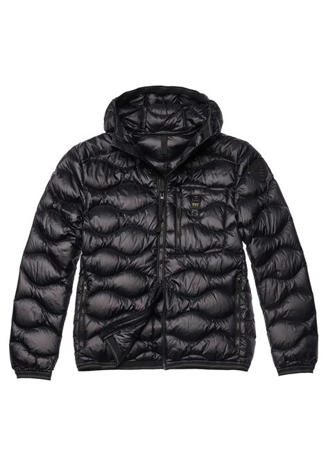 Black Blauer jacket waves men BLAUER | Jackets | 19WBLUC03056999