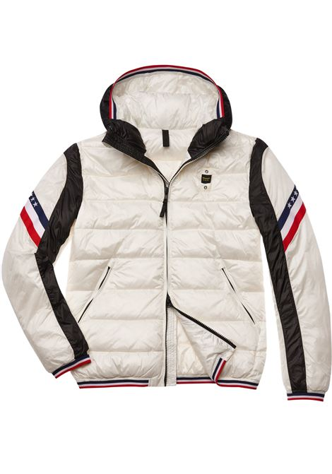 white Blauer jackets Two-colored men BLAUER | Jackets | 19WBLUC08054102