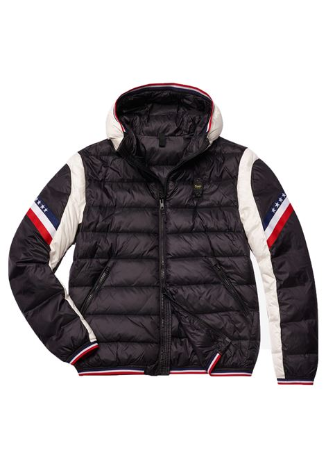black Blauer jacket Two-colored men BLAUER | Jackets | 19WBLUC08054999