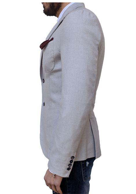 Bob slim dove gray blazer for man BOB   Blazers   DOMI T1122