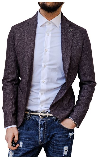 BoB blazer brown slim men BOB | Blazers | DOMI T1131