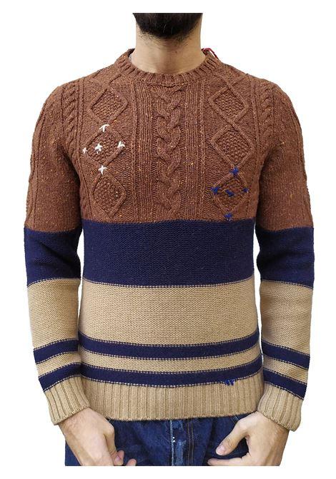 Bob ivon wool crew neck sweater man BOB | Sweaters | IVON1