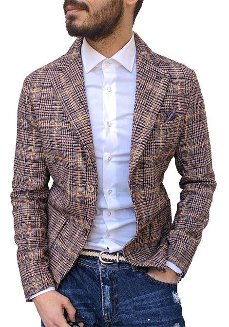 Bob checked beige man blazer BOB | Blazers | WALES1