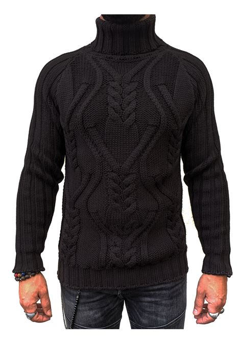 Men's Brian Dales high collar sweater BRIAN DALES | Sweaters | M1628KN285204