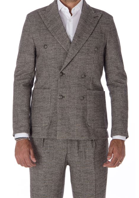 Double breasted jacket Circolo 1901 felpa CIRCOLO 1901 | Suit Jackets | CN23971