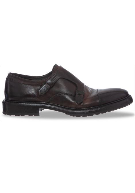 Claudio Marini shoes brown man double buckle CLAUDIO MARINI | Shoes | 81681