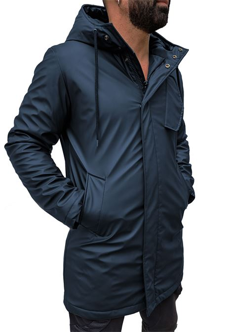 Down jacket Daniele Alessandrini Mestre blue man DANIELE ALESSANDRINI | Jackets | I8031390623