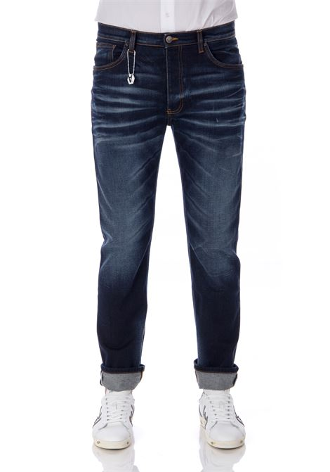 Daniele Alessandrini denim for men's leather DANIELE ALESSANDRINI | Jeans | PJ5739L80339351111