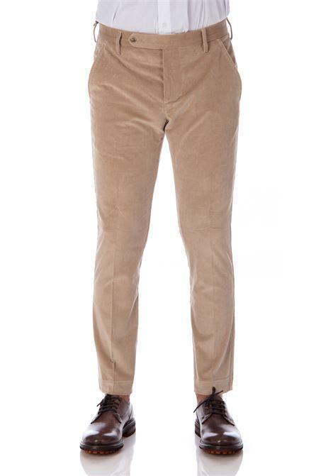 Man beige velvet Entre Amis trousers ENTRE AMIS | Trousers | A208345/17941