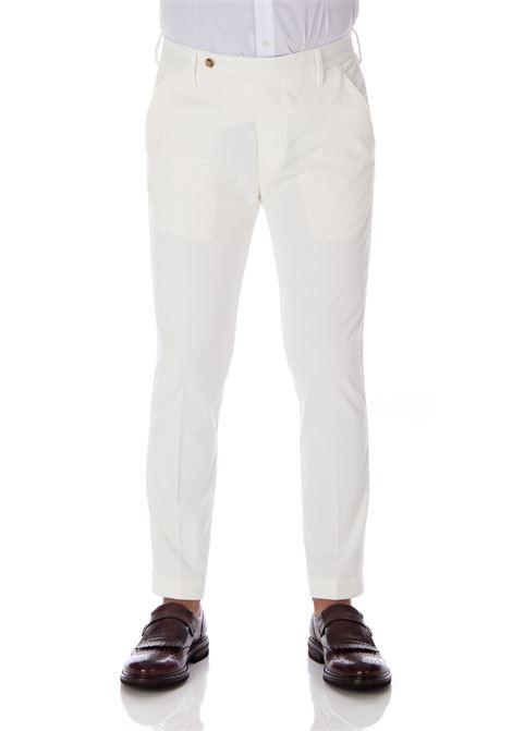Pantalone Entre Amis bianco velluto uomo ENTRE AMIS | Trousers | A208345/17942