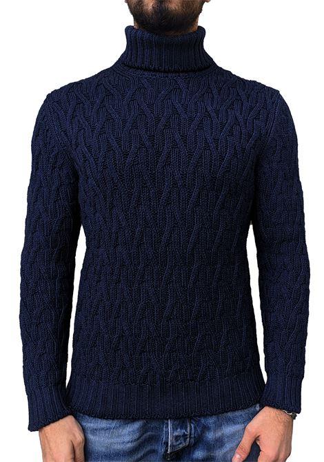 Men's turtleneck Gran Sasso vintage blue GRAN SASSO | Sweaters | 10103/32705905