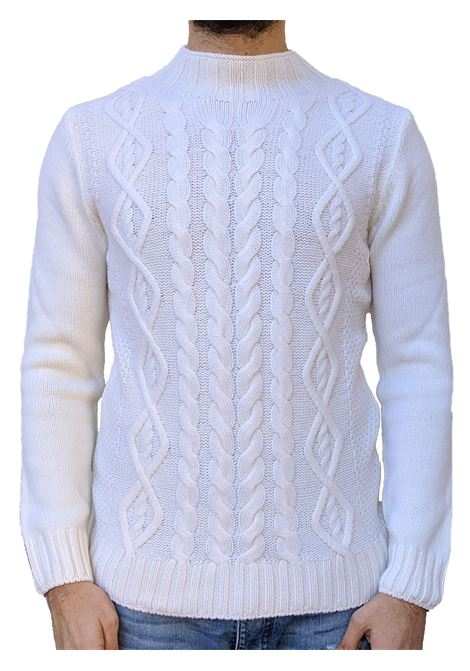White Gran Sasso sweater man turtleneck GRAN SASSO | Sweaters | 10120/22632005