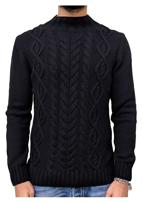 Men's Gran Sasso sweater black turtle GRAN SASSO | Sweaters | 10120/22632099