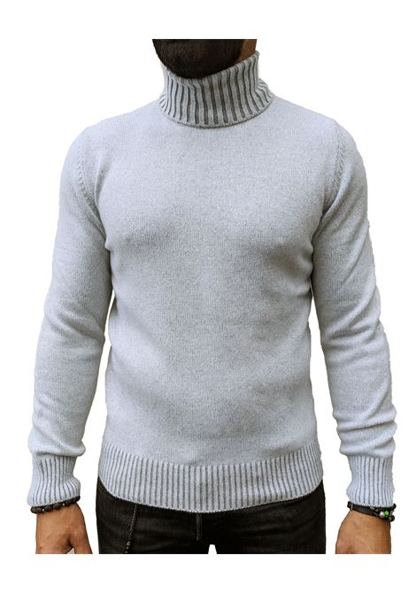Turtleneck Gran Sasso men light gray cashmere GRAN SASSO | Sweaters | 23115/15513810
