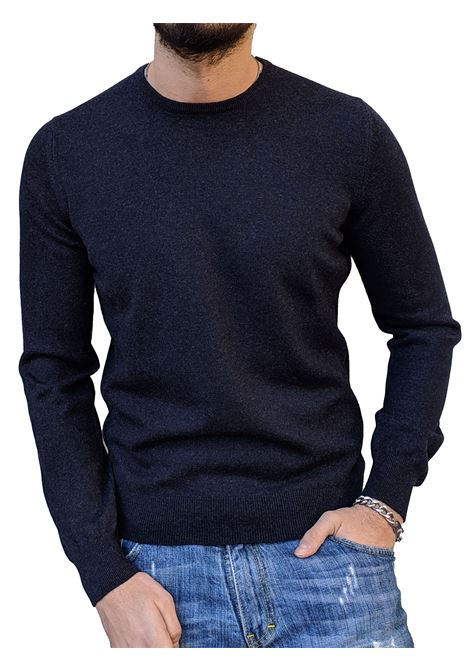 Gran sasso sweater men pure cashmere blue GRAN SASSO | Sweaters | 55170/15590590