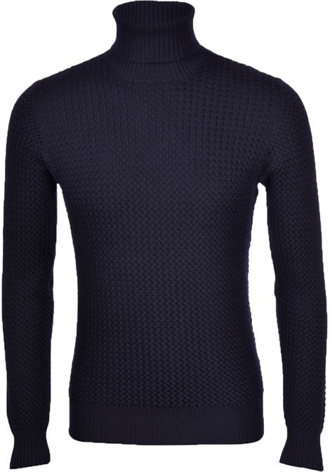 Men's Gran Sasso high collar sweater GRAN SASSO | Sweaters | 57157/14280598